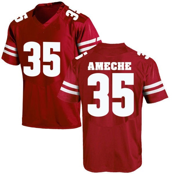 Alan Ameche Wisconsin Badgers College Throwback Jersey