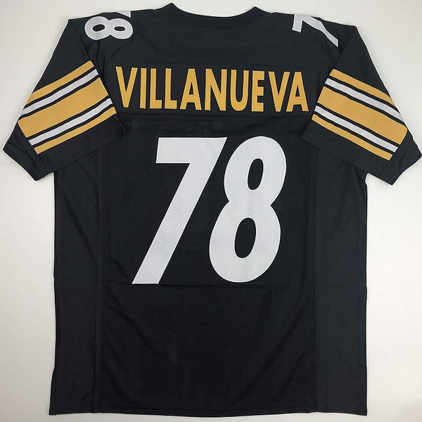 Alejandro Villanueva Pittsburgh Steelers Football Jersey