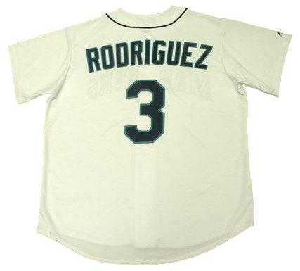 Alex Rodriguez 1997 Seattle Mariners Home Throwback Jersey