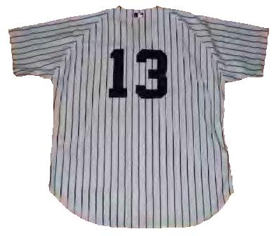 Alex Rodriguez New York Yankees Throwback Jersey