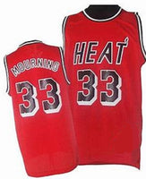 Alonzo Mourning Miami Heat Throwback Basketball Jersey