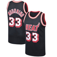 Alonzo Mourning Miami Heat 1996-97 Throwback Basketball Jersey