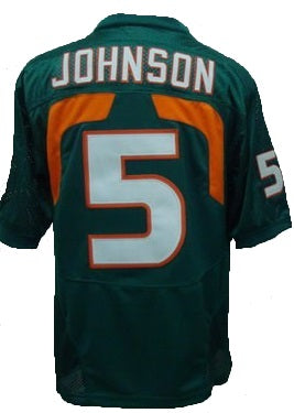 Andre Johnson Miami Hurricanes College Throwback Jersey