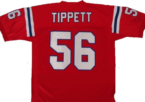 Andre Tippett New England Patriots Throwback Football Jersey