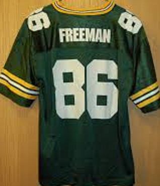 Antonio Freeman Green Bay Packers Throwback Football Jersey