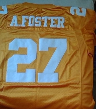 Arian Foster Tennessee Volunteers Football Jersey (In-Stock-Closeout) Size XXL/54 Inch Chest