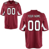 Customizable Arizona Cardinals Pro Style football Jersey