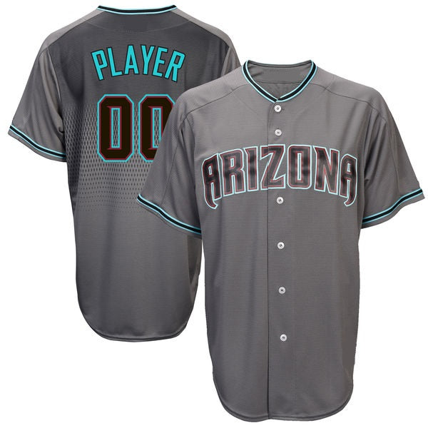Customizable Arizona Diamondbacks Pro Style Baseball Jersey