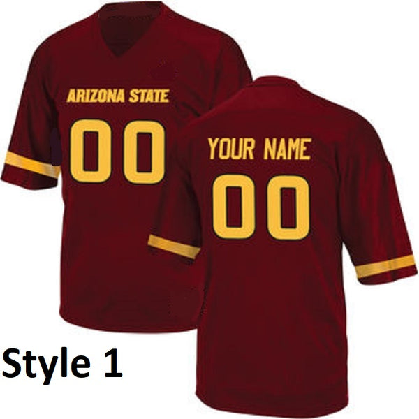 Customizable Arizona State College Style Jersey