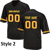 Customizable Sun Devils College Style Jersey