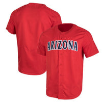 Customizable Arizona Wildcats College Style Baseball Jersey