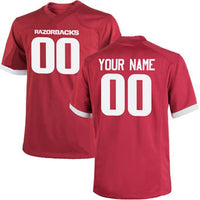 Customizable Arkansas Razorbacks College Style Football Jersey