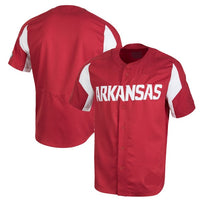 Customizable Arkansas Razorbacks College Baseball Jersey