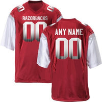 Customizable Razorbacks College Football Jersey