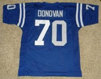 Art Donovan Baltimore Colts Throwback Football Jersey