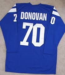 Art Donovan Vintage Baltimore Colts Long Sleeve Jersey