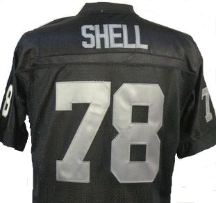 Art Shell Oakland Raiders Throwback Football Jersey