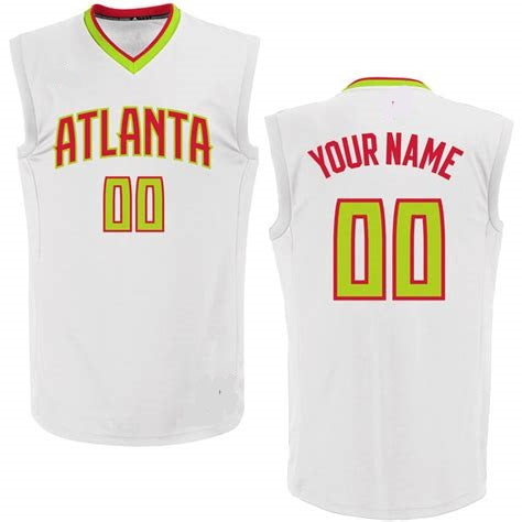 Customizable Atlanta Hawks Pro Style Basketball Jersey