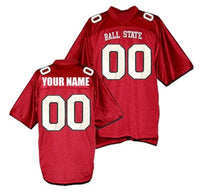 Customizable Ball State College Style Football Jersey