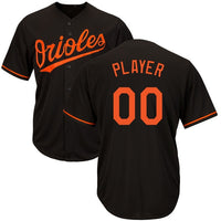 Customizable Baltimore Orioles Pro Style Baseball Jersey