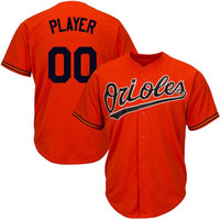 Baltimore Orioles Customizable Baseball Jersey