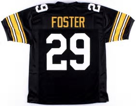 reputable site 3233a 222aa Barry Foster Pittsburgh Steelers Throwback Football Jersey