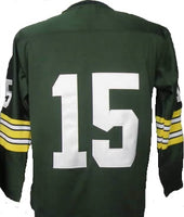 Bart Starr Green Bay Packers Long Sleeve Jersey