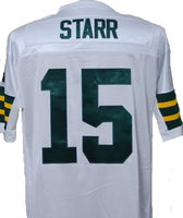 Bart Starr Green Bay Packers Throwback Football Jersey