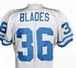 Benny Blades Detroit Lions Throwback Football Jersey