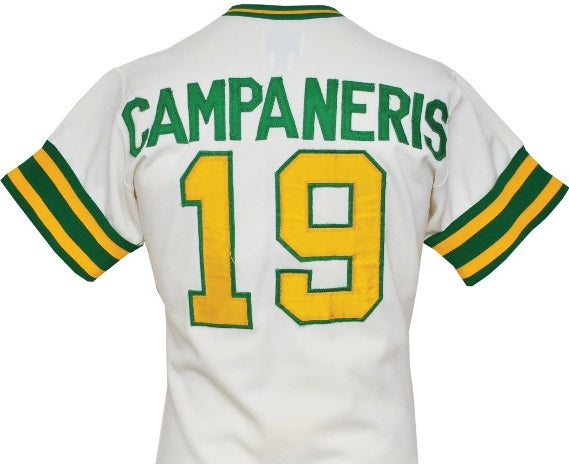 Bert Campaneris Oakland A's Baseball Jersey (In-Stock-Closeout) Size 3XL/56 Inch Chest
