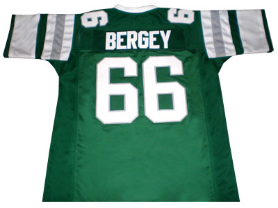 Bill Bergey Philadelphia Eagles Throwback Football Jersey