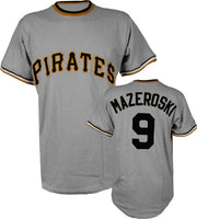 Bill Mazeroski Pittsburgh Pirates Throwback Jersey