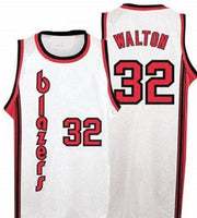 Bill Walton Portland Trailblazers Throwback Basketball Jersey