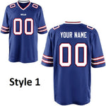 Buffalo Bills Customizable Football Jersey