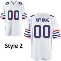 Customizable Buffalo Bills Pro Style Football Jersey