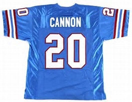 Billy Cannon Houston Oilers Throwback Football Jersey