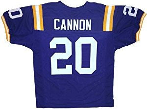 Billy Cannon LSU Tigers College Football Throwback Jersey