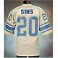 Billy Sims Lions Throwback Jersey