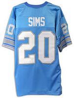 Billy Sims Detroit Lions Throwback Football Jersey
