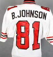 Billy White Shoes Johnson Atlanta Falcons Throwback Jersey