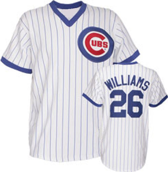 Billy Williams Chicago Cubs Home Throwback Baseball Jersey