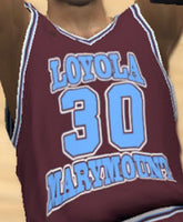 Bo Kimble Loyola Marymount College Basketball Jersey