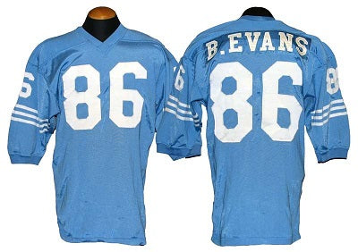Bob Evans Houston Oilers Throwback Football Jersey