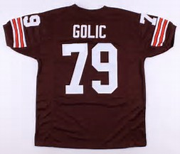 Bob Golic Cleveland Browns Throwback Football Jersey