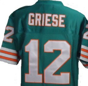 Bob Griese Miami Dolphins Throwback Jersey