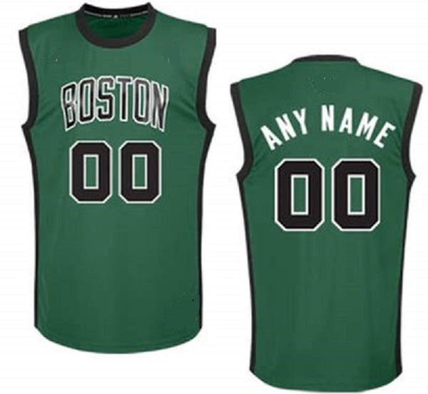 Customizable Boston Celtics Pro Style Basketball Jersey