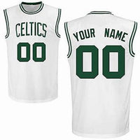 Boston Celtics Customizable Basketball Jersey