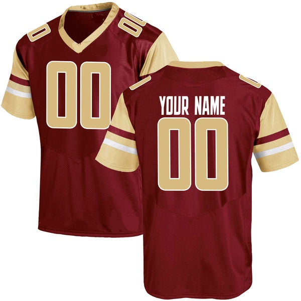 Customizable Boston College Eagles Style Football Jersey