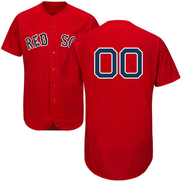Boston Red Sox Customizable Baseball Jersey