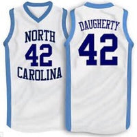 Brad Daugherty North Carolina Tar Heels College Basketball Throwback Jersey